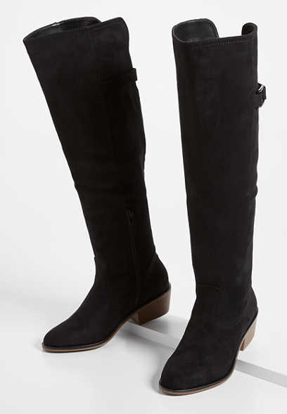 Emily Buckle Tall Riding Boot