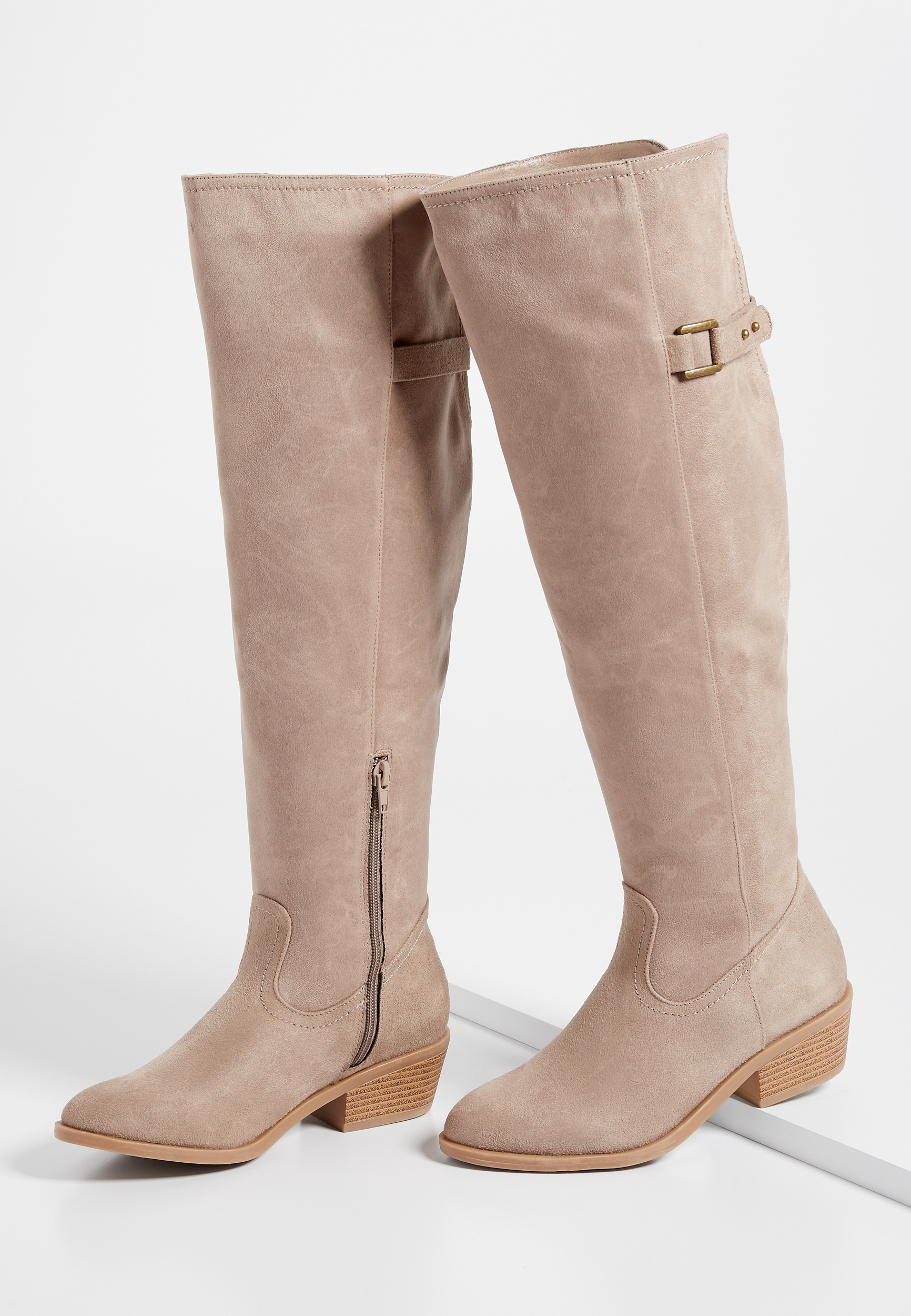 Maurices Emily Buckle Tall Riding Boot