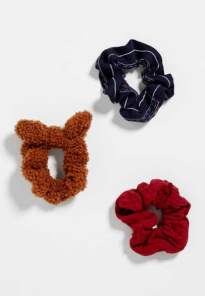 3 Pack Scrunchie Set