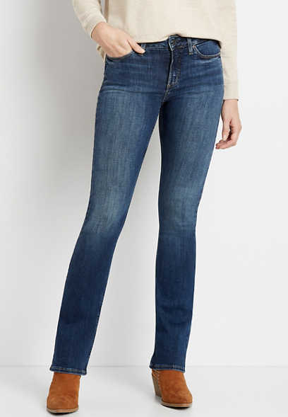Silver Jeans Co.® Most Wanted Dark Wash Bootcut Jean