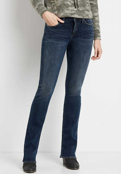 Silver Jeans Co.® Avery High Rise Dark Wash Slim Boot Jean