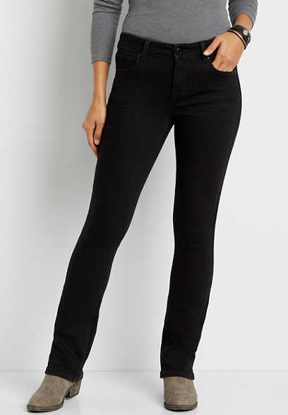 m jeans by maurices™ Black Slim Boot Jean