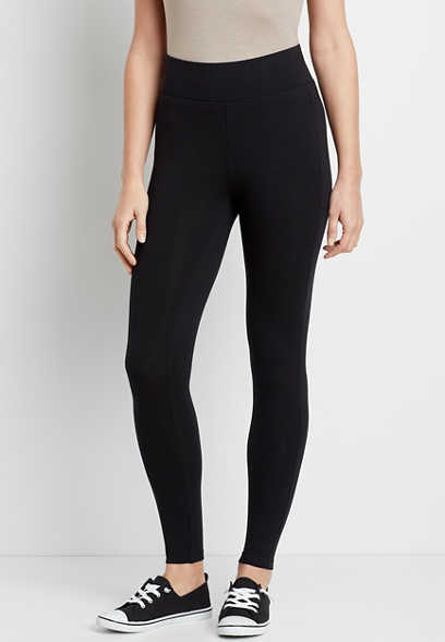 Black High Rise Slimming Sculpt Legging