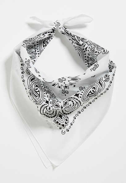 Basic White Bandana