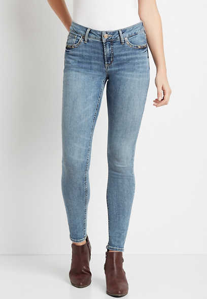Silver Jeans Co.® Elyse Medium Wash Skinny Jean