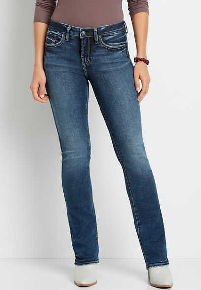 Silver Jeans Co.® Suki Dark Wash Slim Boot Jean