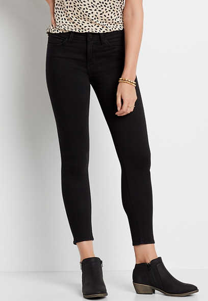 Flying Monkey™ Black Skinny Ankle Jean
