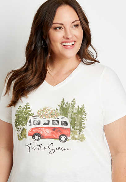 Plus Size White