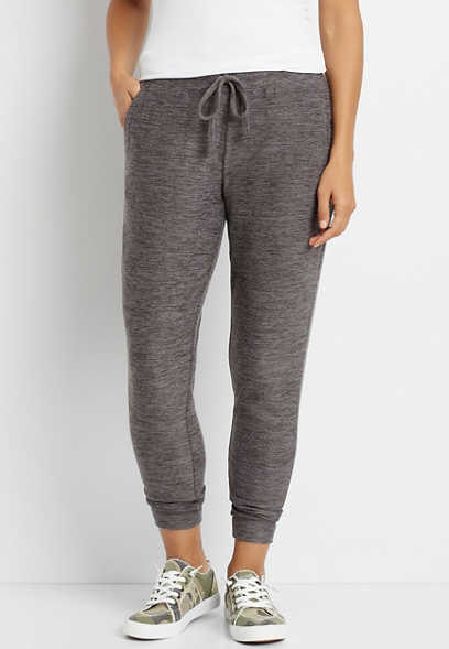 Gray Super Soft Cozy Jogger Pant