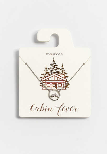 Dainty Cabin Fever Necklace