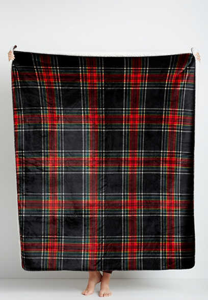 Tartan Plaid Plush Blanket