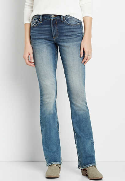 Vigoss® Medium Wash Bootcut Jean