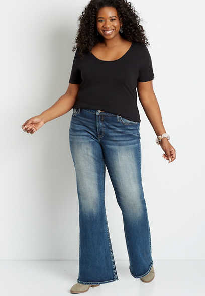 Plus Size Vigoss® Medium Wash Bootcut Jean