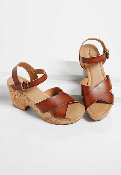 Fiona Strappy Wedge Sandal