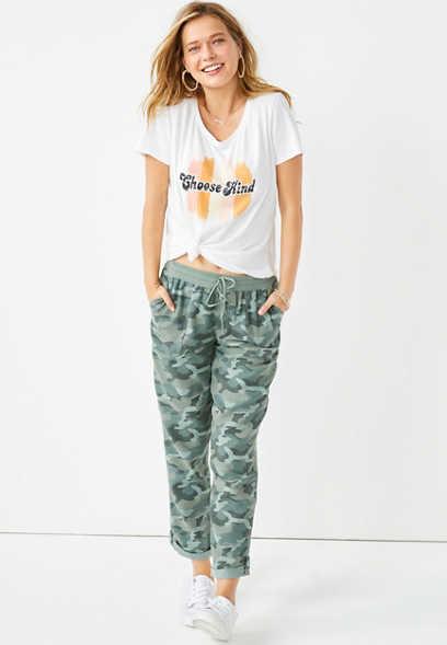 Maurices Women's Camo Weekender Pants
