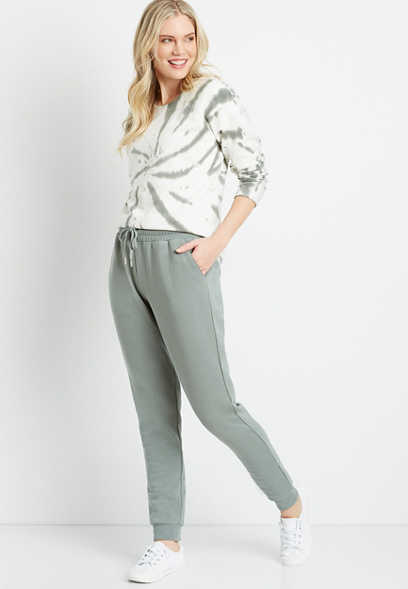 Maurices Women's Olive Jogger Pant