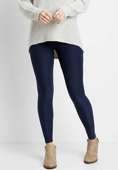 High Rise Navy Ultra Soft Legging