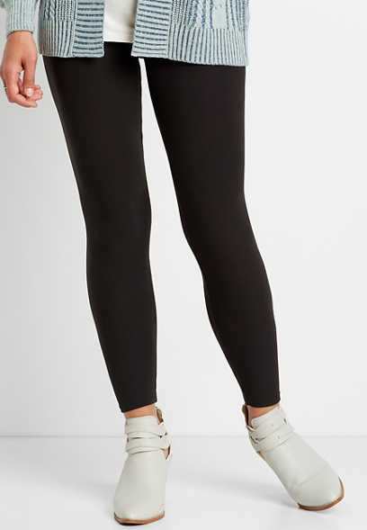 High Rise Black Ultra Soft Legging