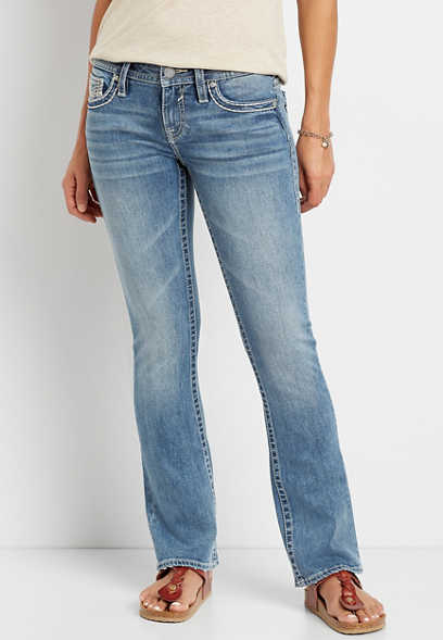 Vigoss® Light Wash Slim Boot Jean