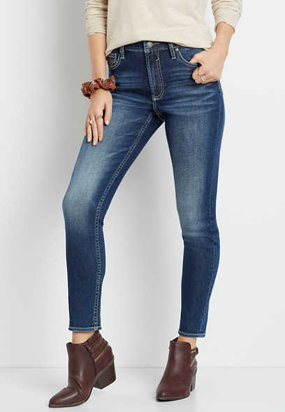Vigoss® High Rise Dark Wash Skinny Jean