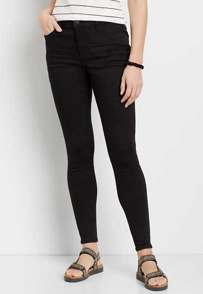 DenimFlex™ Black High Rise Curvy Jegging