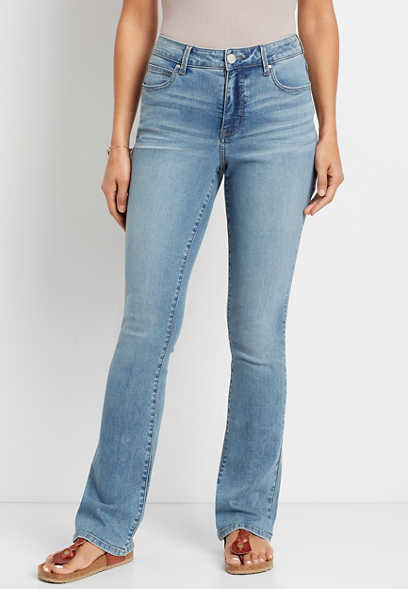 Everflex™ High Rise Medium Curvy Baby Bootcut Jean