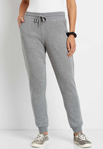Heather Gray Jogger Pant