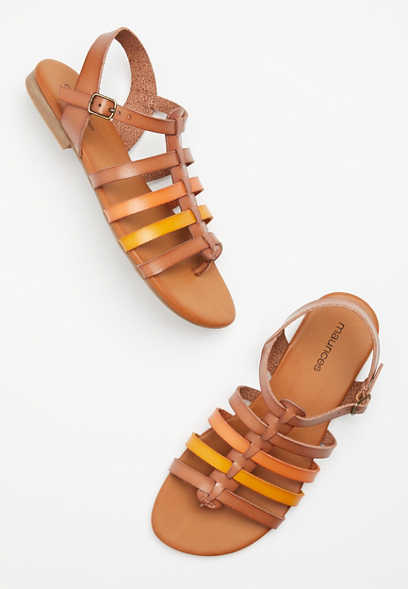 Lana Brown Gladiator Sandal