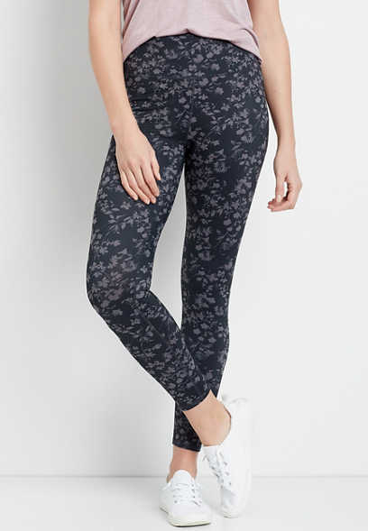 Floral High Rise Full Length Luxe Legging