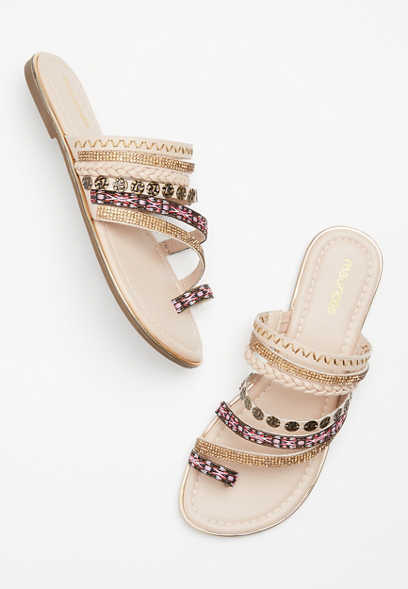 Maurices Libby Embellished Strappy Sandal