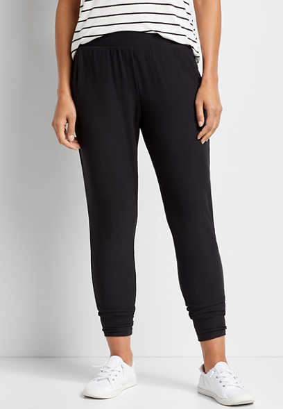 Ultra Soft Black Jogger