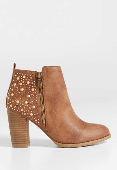Brandy embellished heeled bootie