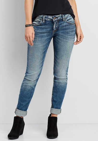 Silver Jeans Co.® Sam medium wash boyfriend jeans