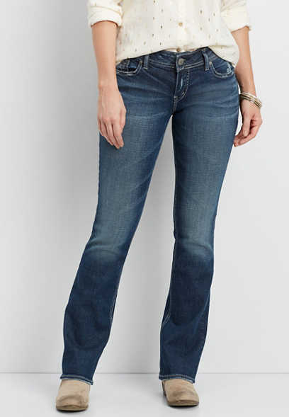 Silver Jeans Co.® Elyse dark wash slim boot jeans