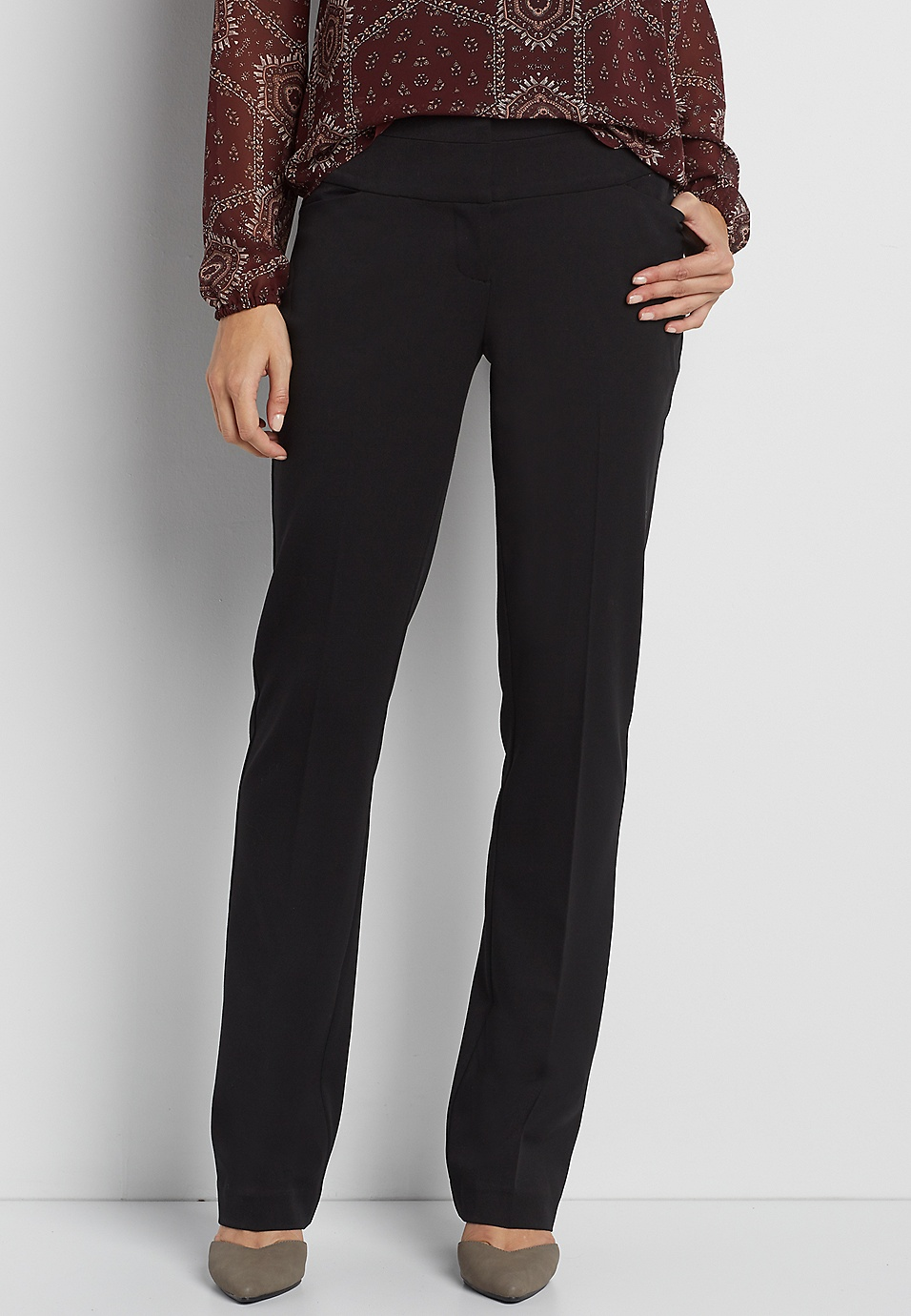 78fd852e40c the smart IT fit bootcut pant in black