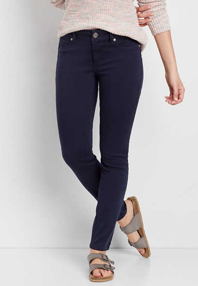 DenimFlex™ jegging in blue jasmine