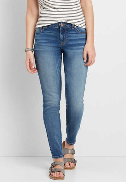 DenimFlex™ jegging in medium wash