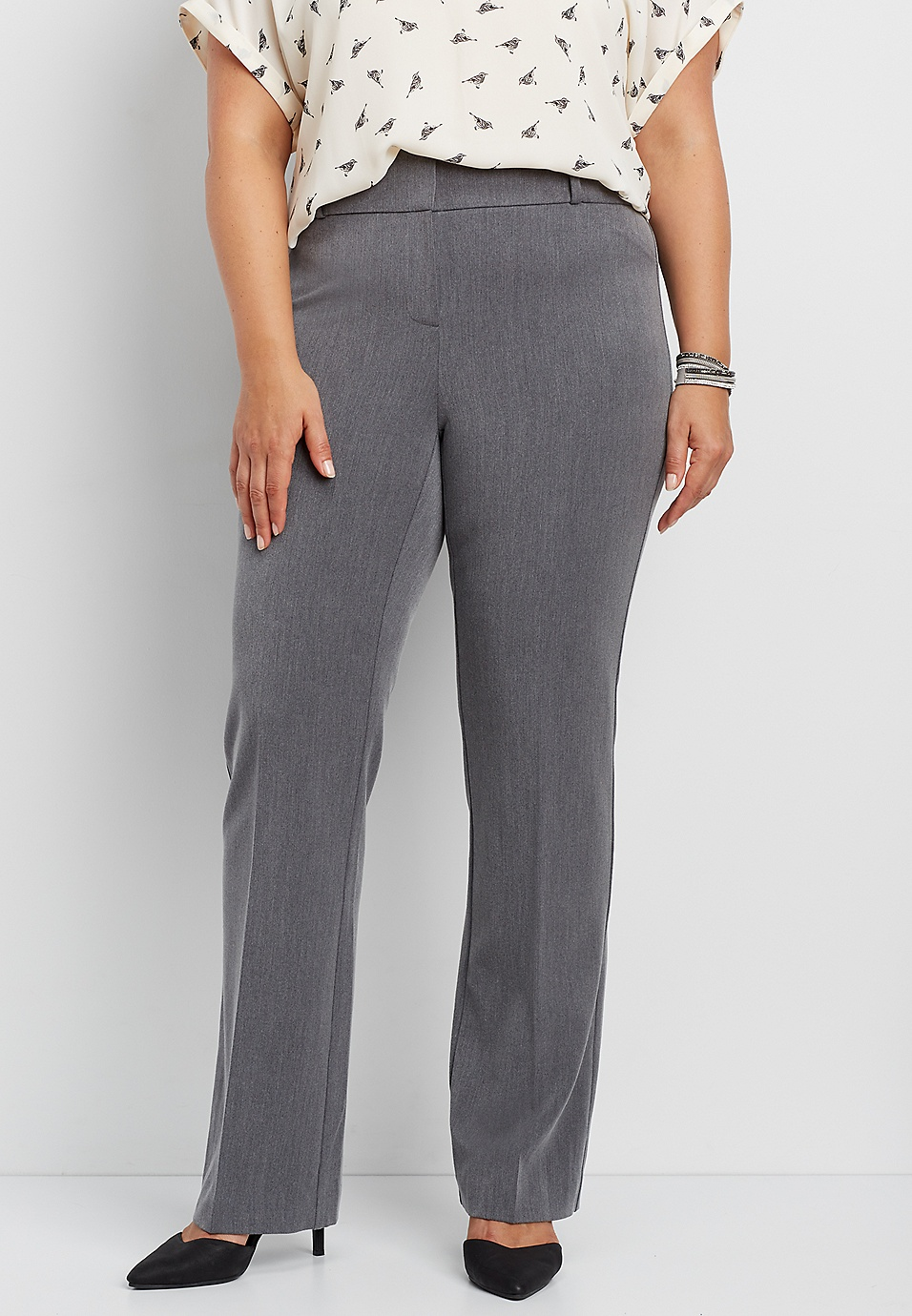 948da79f035 the polished plus size IT fit bootcut pant