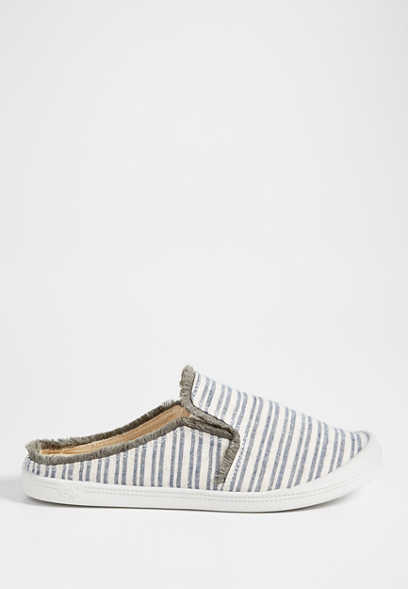 Molly stripe slip on
