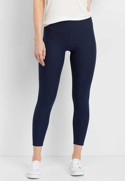 7/8 navy active legging