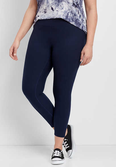 plus size 7/8 active legging