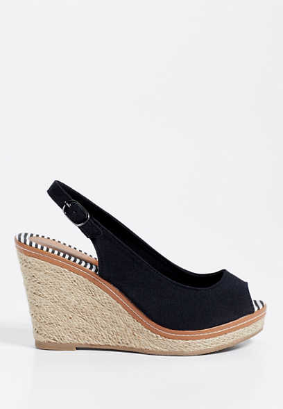 Jill sling back wedge
