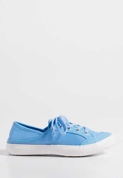 Meredith mesh lace up sneaker