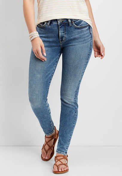 Silver Jeans Co.® Mazy high rise skinny jean