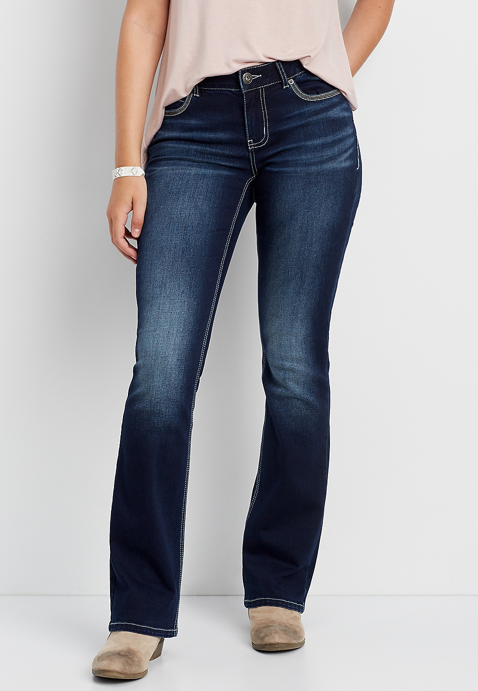Denimflex Medium Wash Boot Cut Jean Maurices Shop Offer Online In China Buy Cheap Pay With Paypal DeDrBzejm7