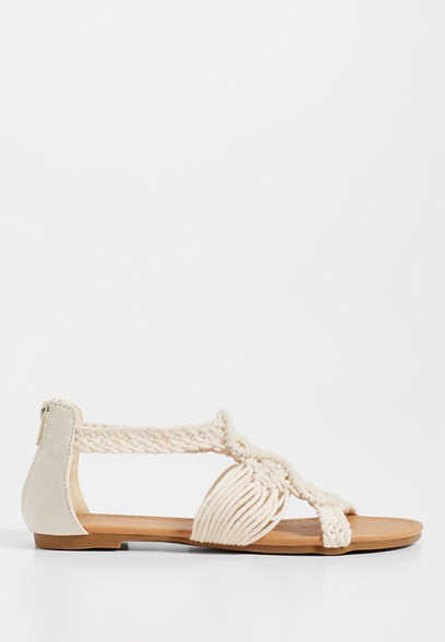 Stacy crochet sandal