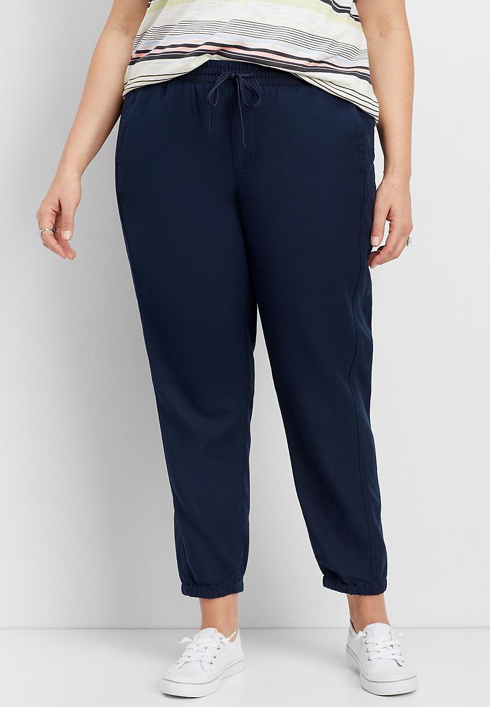 4c82ee3f124 plus size navy weekender pant