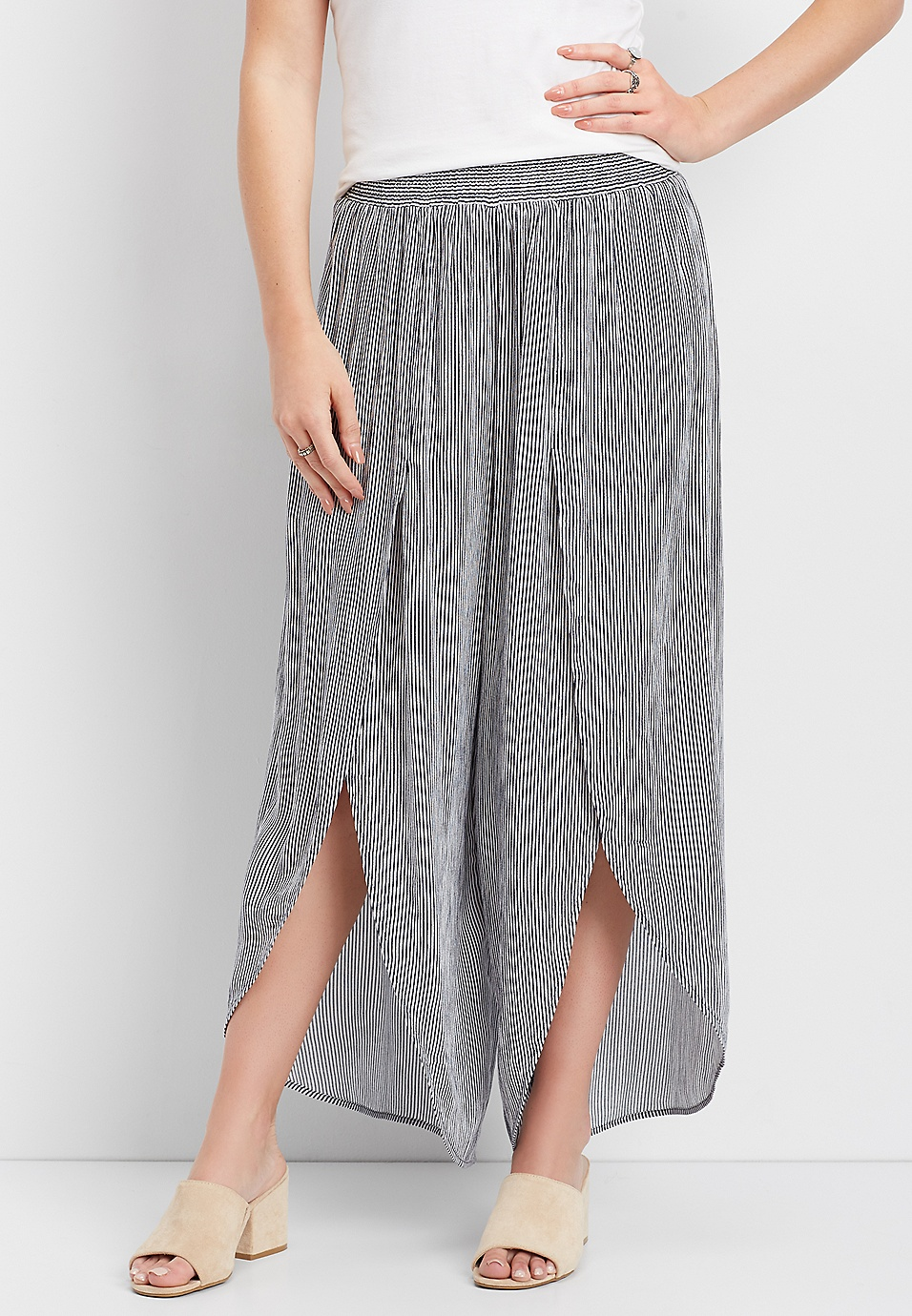 Cheap Sale Good Selling Pictures Sale Online Pinstripe Flyaway Pant Maurices Sale Pick A Best Buy Cheap Order 2018 Unisex Cheap Online gtMO1