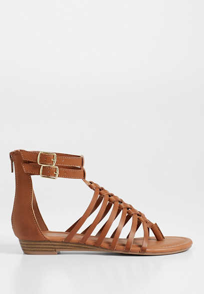 Jasmine braided gladiator sandal