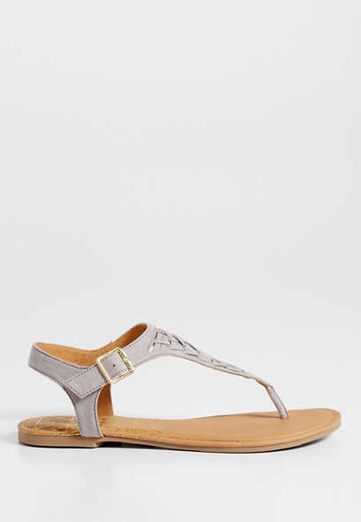 Sienna woven front sandal